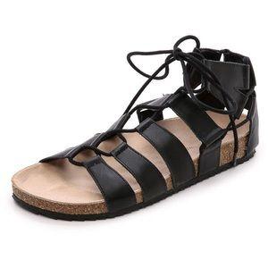 Loeffler Randall Pascal Gladiator Sandal 8 Black